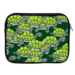 Seamless Tile Background Abstract Turtle Turtles Apple Ipad 2/3/4 Zipper Cases