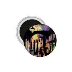 Street Colorful Abstract People 1 75  Magnets by Amaryn4rt