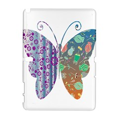 Vintage Style Floral Butterfly Galaxy Note 1 by Amaryn4rt