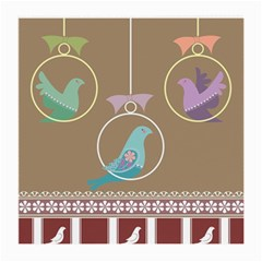 Isolated Wallpaper Bird Sweet Fowl Medium Glasses Cloth by Amaryn4rt