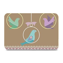 Isolated Wallpaper Bird Sweet Fowl Plate Mats by Amaryn4rt