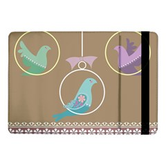 Isolated Wallpaper Bird Sweet Fowl Samsung Galaxy Tab Pro 10 1  Flip Case by Amaryn4rt