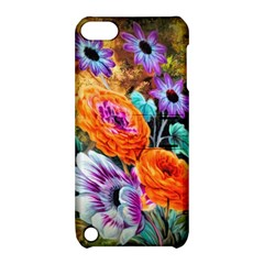 Flowers Artwork Art Digital Art Apple Ipod Touch 5 Hardshell Case With Stand by Amaryn4rt