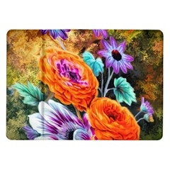 Flowers Artwork Art Digital Art Samsung Galaxy Tab 10 1  P7500 Flip Case