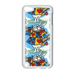 Seamless Repeating Tiling Tileable Apple Ipod Touch 5 Case (white) by Amaryn4rt