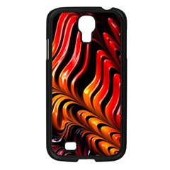 Abstract Fractal Mathematics Abstract Samsung Galaxy S4 I9500/ I9505 Case (black)
