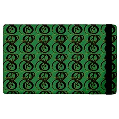 Abstract Pattern Graphic Lines Apple Ipad 2 Flip Case by Amaryn4rt