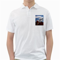 Acrylic Paint Paint Art Modern Art Golf Shirts by Amaryn4rt