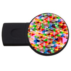 Background Abstract Usb Flash Drive Round (2 Gb)