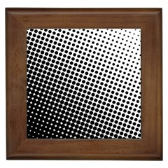 Background Wallpaper Texture Lines Dot Dots Black White Framed Tiles by Amaryn4rt