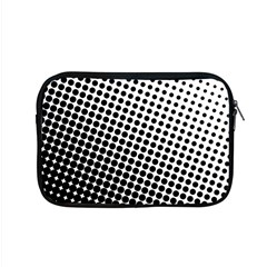 Background Wallpaper Texture Lines Dot Dots Black White Apple Macbook Pro 15  Zipper Case by Amaryn4rt