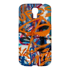 Background Graffiti Grunge Samsung Galaxy S4 I9500/i9505 Hardshell Case by Amaryn4rt
