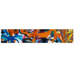 Background Graffiti Grunge Flano Scarf (large) by Amaryn4rt