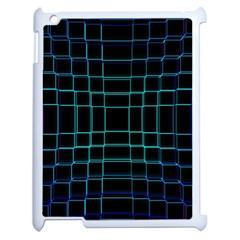 Background Wallpaper Texture Lines Apple Ipad 2 Case (white) by Amaryn4rt