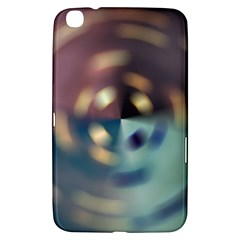 Blur Bokeh Colors Points Lights Samsung Galaxy Tab 3 (8 ) T3100 Hardshell Case