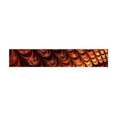 Brown Fractal Mathematics Frax Flano Scarf (mini) by Amaryn4rt