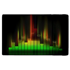 Plaid Light Neon Green Apple Ipad 3/4 Flip Case by Alisyart