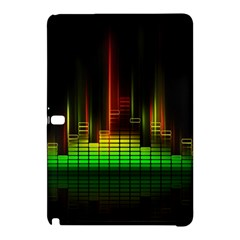 Plaid Light Neon Green Samsung Galaxy Tab Pro 10 1 Hardshell Case