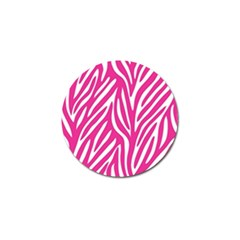 Zebra Skin Pink Golf Ball Marker (4 Pack) by Alisyart