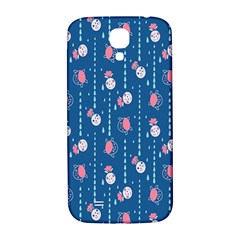 Pig Pork Blue Water Rain Pink King Princes Quin Samsung Galaxy S4 I9500/i9505  Hardshell Back Case by Alisyart