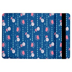 Pig Pork Blue Water Rain Pink King Princes Quin Ipad Air Flip by Alisyart