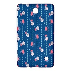 Pig Pork Blue Water Rain Pink King Princes Quin Samsung Galaxy Tab 4 (8 ) Hardshell Case