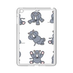 Rhinoceros Animal Rhino Ipad Mini 2 Enamel Coated Cases