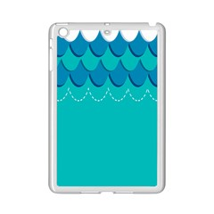 Sea Wave Blue Water Beach Ipad Mini 2 Enamel Coated Cases
