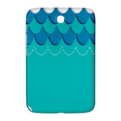Sea Wave Blue Water Beach Samsung Galaxy Note 8 0 N5100 Hardshell Case