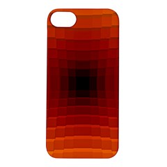 Orange Background Wallpaper Texture Lines Apple Iphone 5s/ Se Hardshell Case by Amaryn4rt