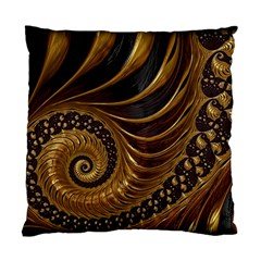 Fractal Spiral Endless Mathematics Standard Cushion Case (two Sides) by Amaryn4rt