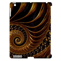 Fractal Spiral Endless Mathematics Apple Ipad 3/4 Hardshell Case (compatible With Smart Cover)