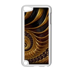 Fractal Spiral Endless Mathematics Apple Ipod Touch 5 Case (white) by Amaryn4rt