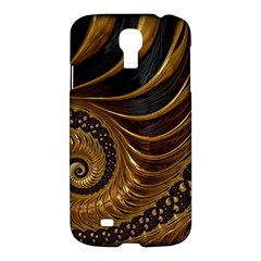 Fractal Spiral Endless Mathematics Samsung Galaxy S4 I9500/i9505 Hardshell Case by Amaryn4rt