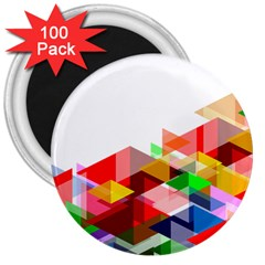 Graphics Cover Gradient Elements 3  Magnets (100 Pack)