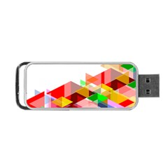 Graphics Cover Gradient Elements Portable Usb Flash (two Sides) by Amaryn4rt