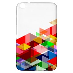 Graphics Cover Gradient Elements Samsung Galaxy Tab 3 (8 ) T3100 Hardshell Case