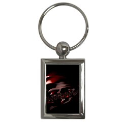 Fractal Mathematic Sabstract Key Chains (rectangle)