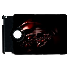 Fractal Mathematic Sabstract Apple Ipad 3/4 Flip 360 Case by Amaryn4rt