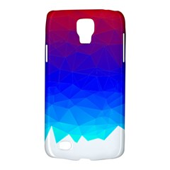 Gradient Red Blue Landfill Galaxy S4 Active by Amaryn4rt