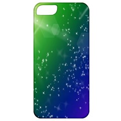 Shiny Sparkles Star Space Purple Blue Green Apple Iphone 5 Classic Hardshell Case