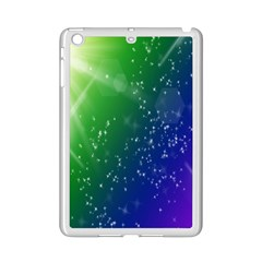 Shiny Sparkles Star Space Purple Blue Green Ipad Mini 2 Enamel Coated Cases