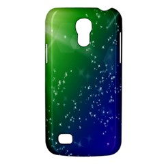 Shiny Sparkles Star Space Purple Blue Green Galaxy S4 Mini by Alisyart