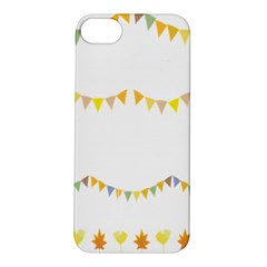 Season Flower Floral Spring Apple Iphone 5s/ Se Hardshell Case