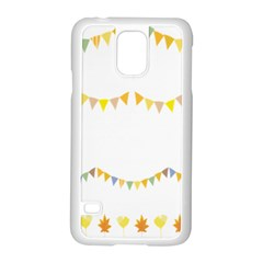 Season Flower Floral Spring Samsung Galaxy S5 Case (white)