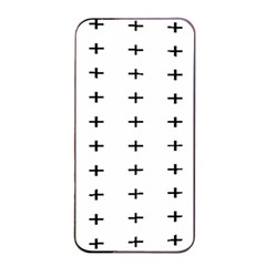Sign Cross Plus Black Apple Iphone 4/4s Seamless Case (black) by Alisyart