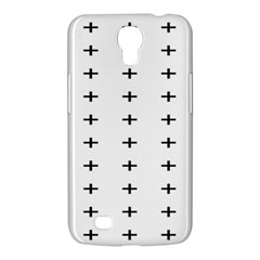 Sign Cross Plus Black Samsung Galaxy Mega 6 3  I9200 Hardshell Case by Alisyart