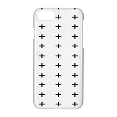 Sign Cross Plus Black Apple Iphone 7 Hardshell Case