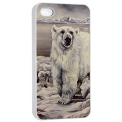 Polar Bear Apple Iphone 4/4s Seamless Case (white)