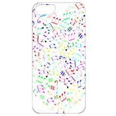 Prismatic Musical Heart Love Notes Rainbow Apple Iphone 5 Classic Hardshell Case